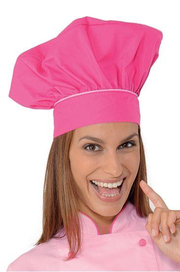 Cappello Cuoco - Isacco Fuxia+rosa