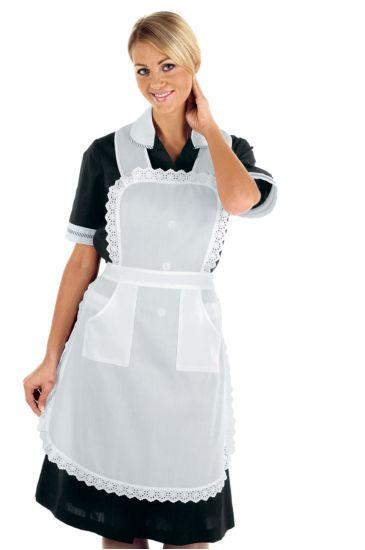 Housekeeper apron - Isacco Bianco