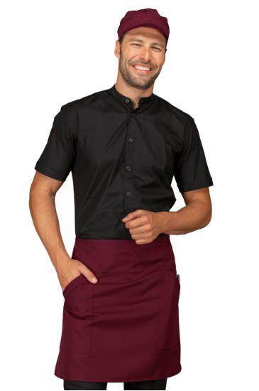 Ballantyne apron - Isacco Bordeaux