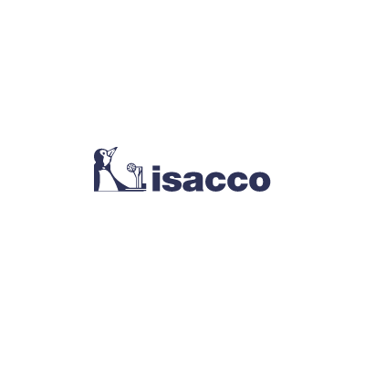 Grembiule Vita cm 70x46 con Tasca - Isacco Bianco+blu Cina
