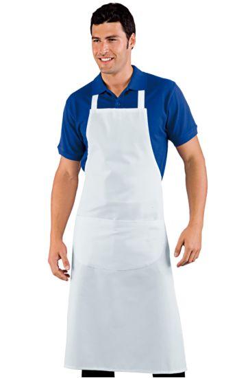 Big breast apron cm 96x105 - Isacco Bianco