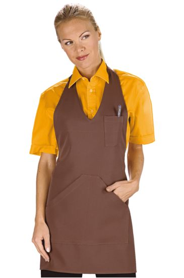 Bistro apron - Isacco Brown