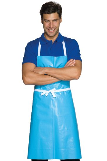 Wax breast apron cm 70x90 - Isacco Light Blue