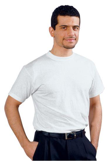 Crew-necked T-shirt - Isacco Bianco