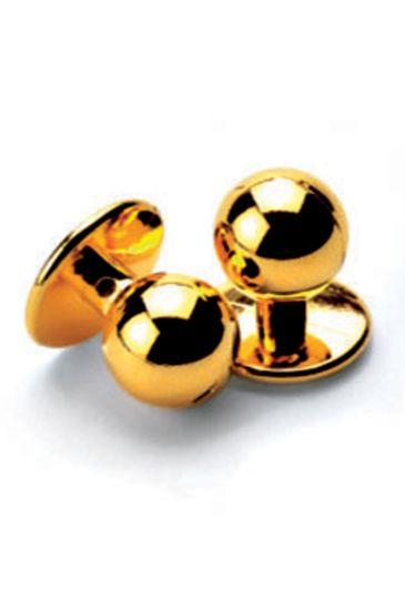 Confezione 10 Bottoni a pallina antipanico - Isacco Oro