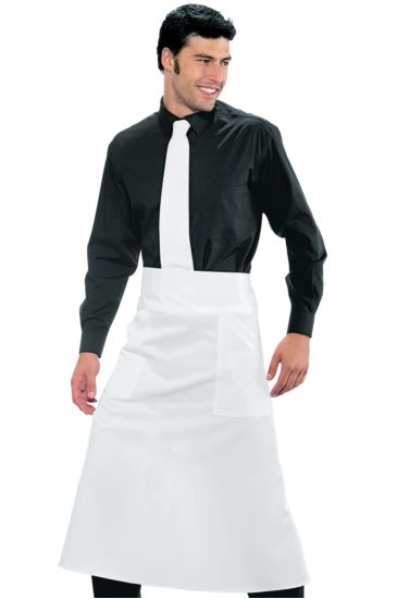 Versailles apron without split - Isacco Bianco