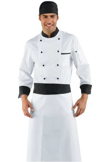 Rondin apron cm 95x70 - Isacco Black Vienna