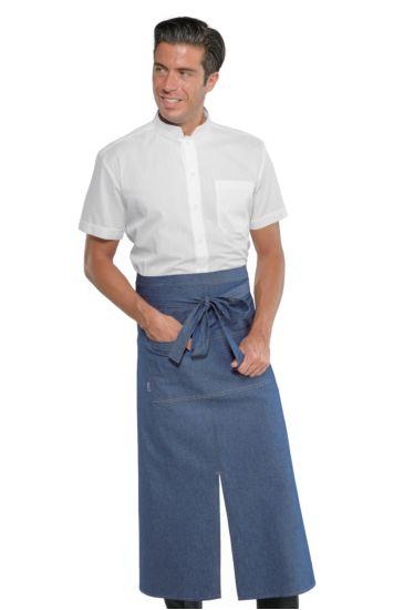 Grembiule Mikonos con Spacco - Isacco Jeans