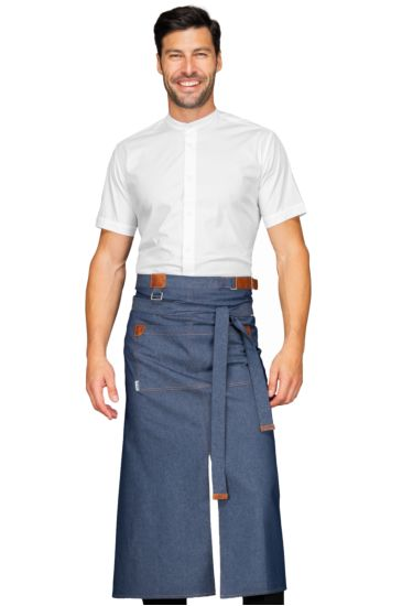 Grembiule Tennessee con Spacco - Isacco Jeans