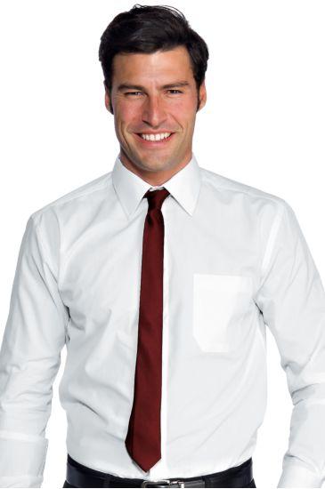 Cravatta Stretta - Isacco Bordeaux