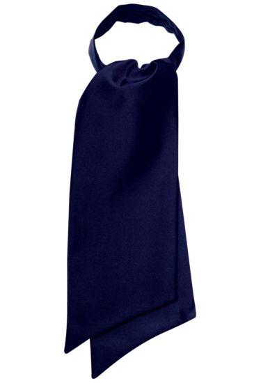 Ascot scarf - Isacco Blu
