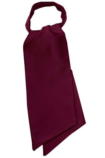 Ascot scarf - Isacco Bordeaux