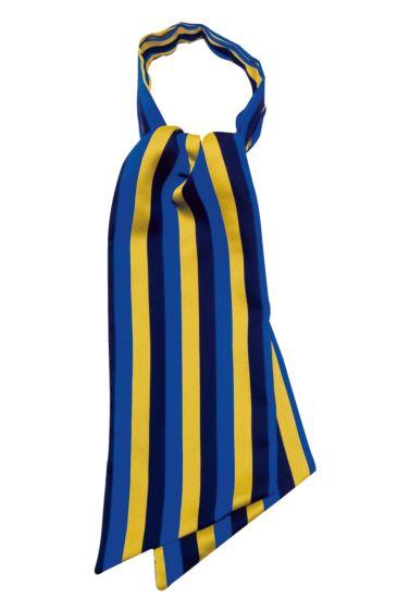 Ascot scarf - Isacco Regimental Blue