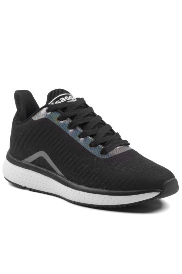 Sneaker King Unisex Shoes - Isacco Black+white