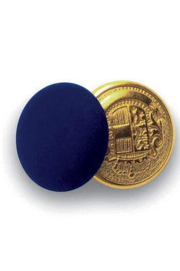 Bottoni gemello Oro + Colore - Isacco Blu