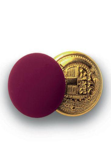 Bottoni gemello Oro + Colore - Isacco Bordeaux