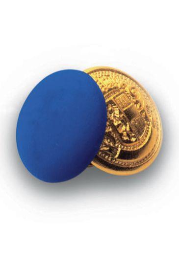 Bottoni gemello Oro + Colore - Isacco Blu Cina