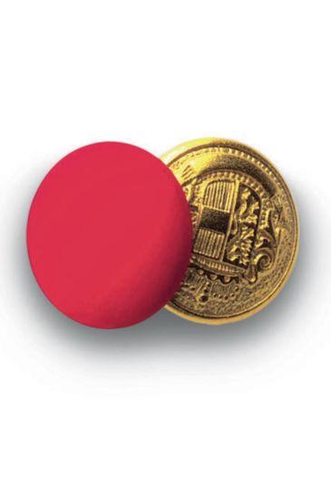 Bottoni gemello Oro + Colore - Isacco Rosso