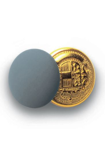 Bottoni gemello Oro + Colore - Isacco Grigio