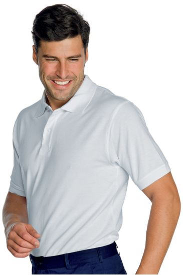 Unisex polo shirt - Isacco Bianco