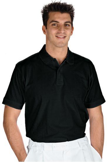 Unisex polo shirt - Isacco Nero