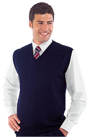 Unisex woolen vest - Isacco Blu