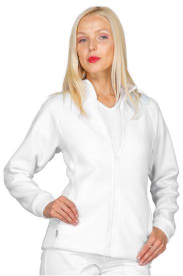 Fleece pullover - Isacco Bianco