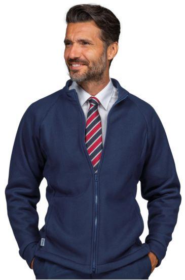 Fleece pullover - Isacco Blu