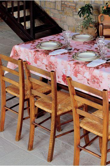 Acquatello tablecloth - Isacco Bordeaux