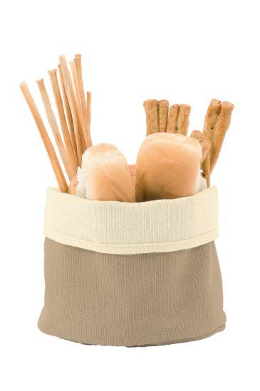 Bread basket - Isacco Cream+corda
