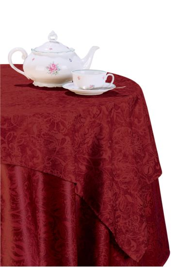 Luxor tablecloth - Isacco Bordeaux